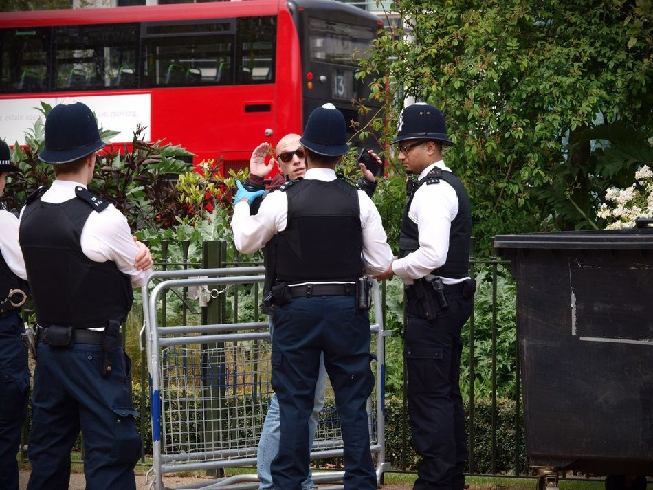 Metropolitan police officers conducting searches at the London 420 Rally to legalise Canabis 20-04-2017 Hyde Park Metropolitan Police Stevesevilempire Photojournalism Steve Merrick Canabisculture London Lifestyle Canabbis London News Canabis Policing Zuiko 420 Rally London Olympus