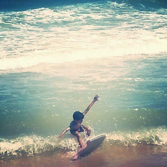 Irmão BodyBoarding Life Is A Beach