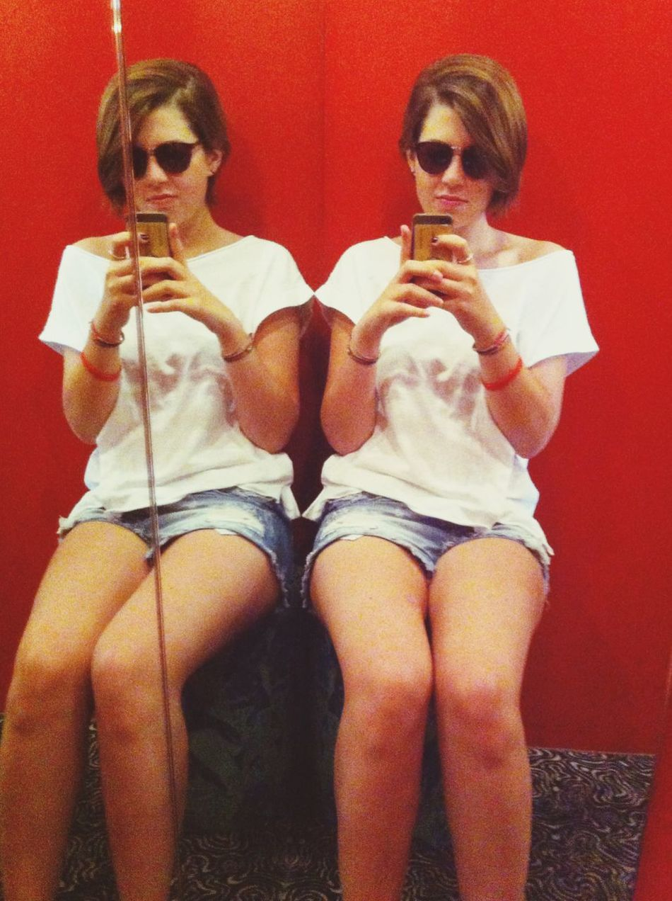 Mirror Girl Selfie