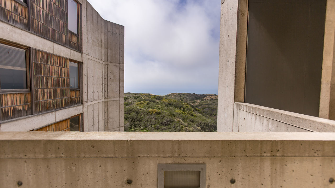 Architecture Building Exterior Built Structure Cali California Cloud - Sky Day Education Mountain Nature No People Outdoors Salk Institute  Sky Southern California