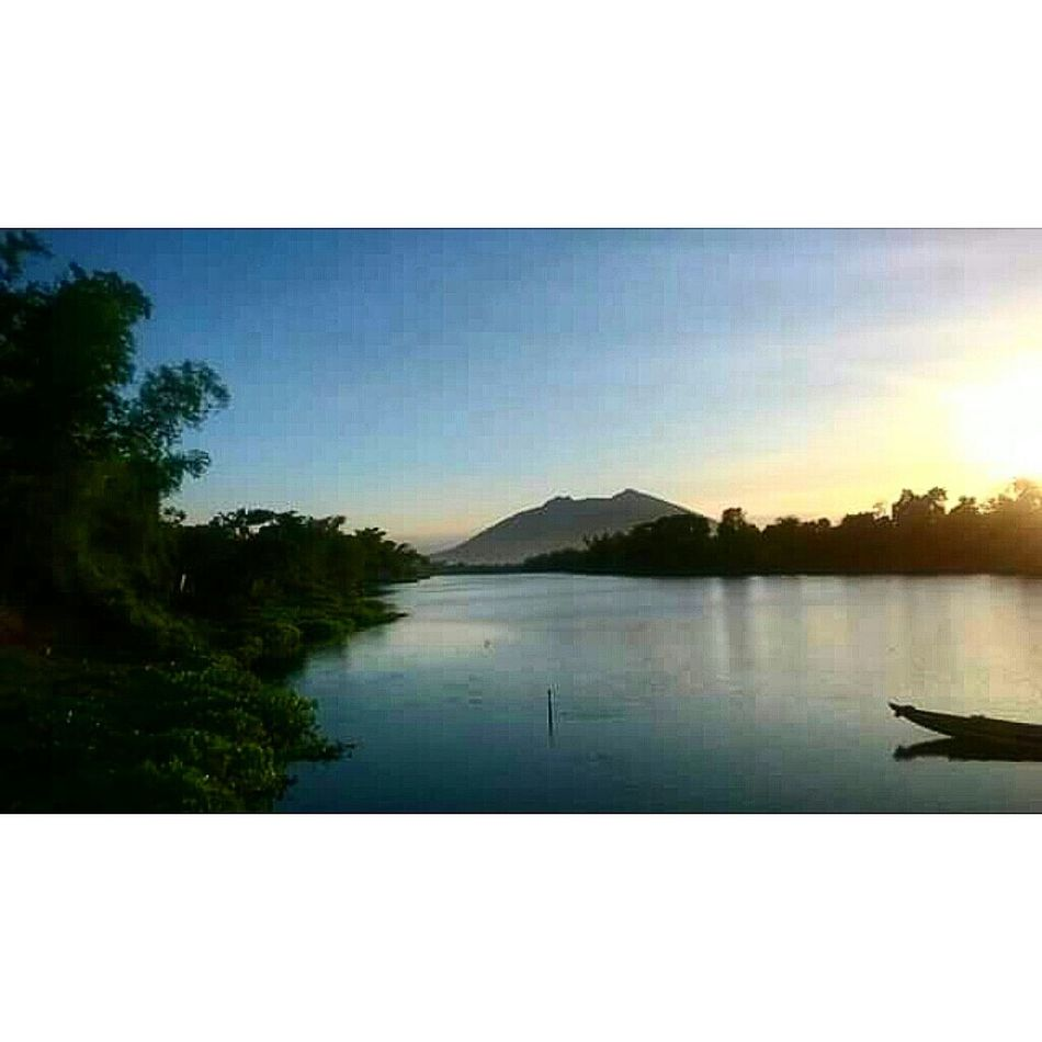1stday Nuevaecija Vacation Sunset 042715 Riverside View 3dayvacation Vacationwithmylove ❤❤❤