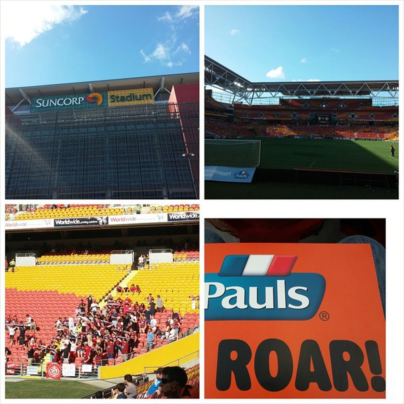 BrisbaneRoar One NOthIng WesternSydneyWanderers Suncorp Stadium