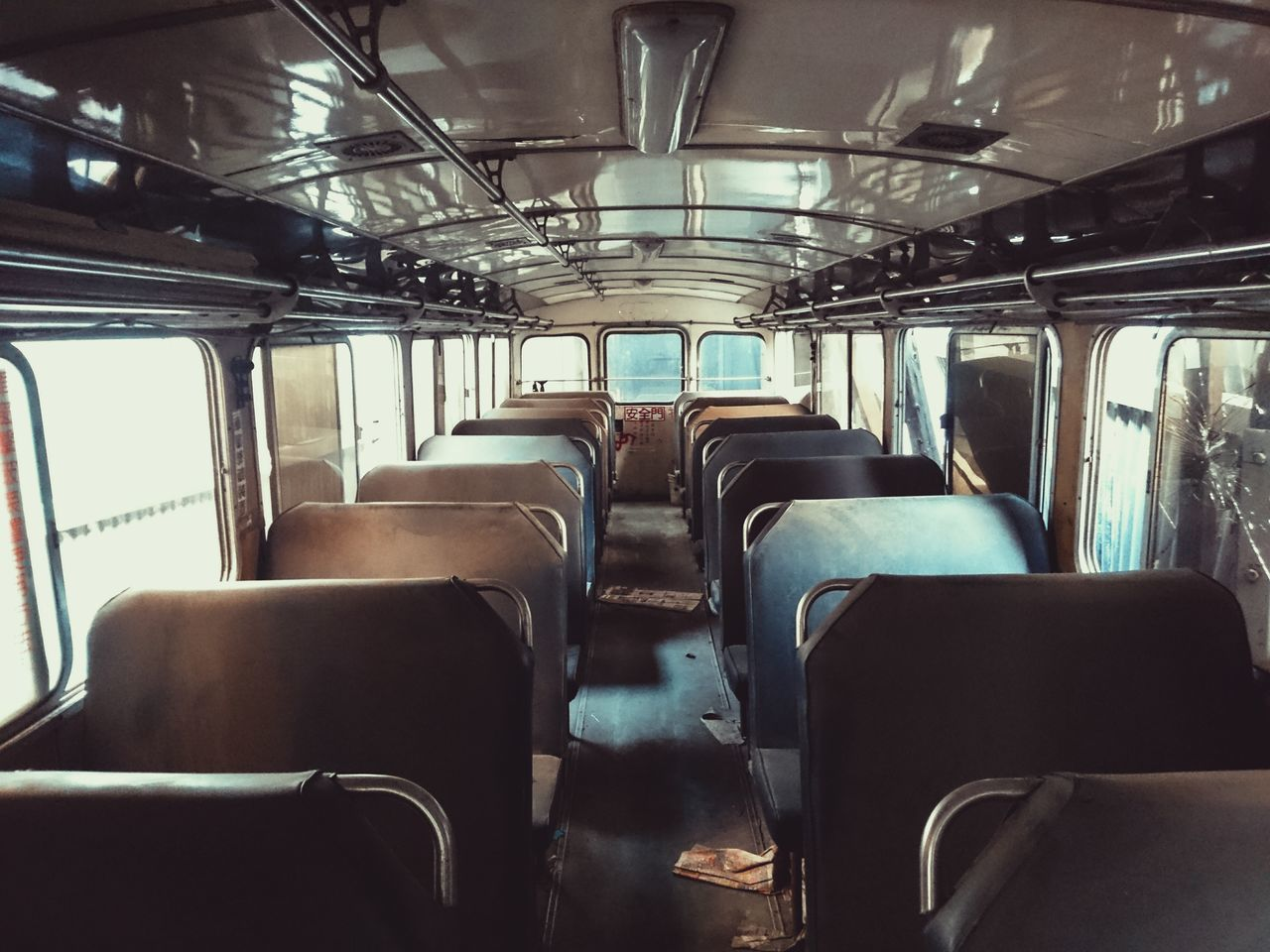 Old Bus Bus No People Window Vehicle Seat Seat Discarded Transportation Taking Photos Taiwan