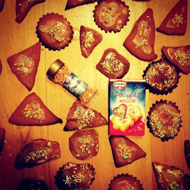 święta  Pierniczki Posypka I Perełki Mmm Deliciouse