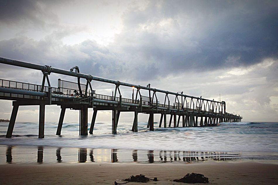 The Seaway - The Spit (Southport) Enjoying Life Beach Beachphotography Sunrise Pier Landscape Sea Seascape