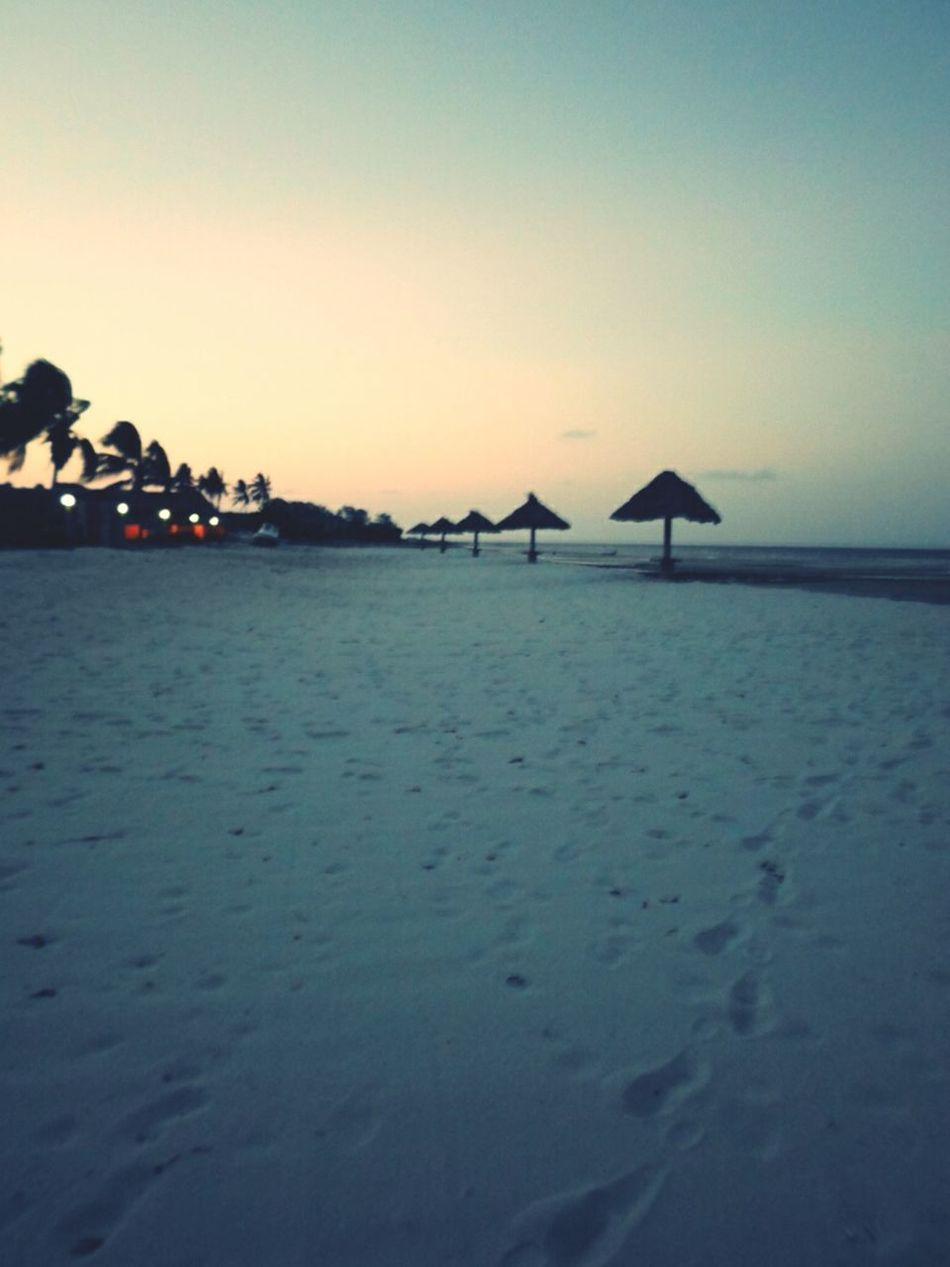 at the beach :)