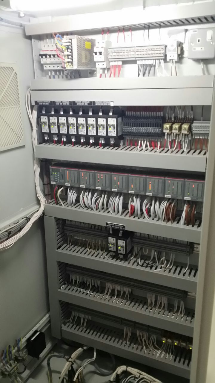 View Of Control Panel