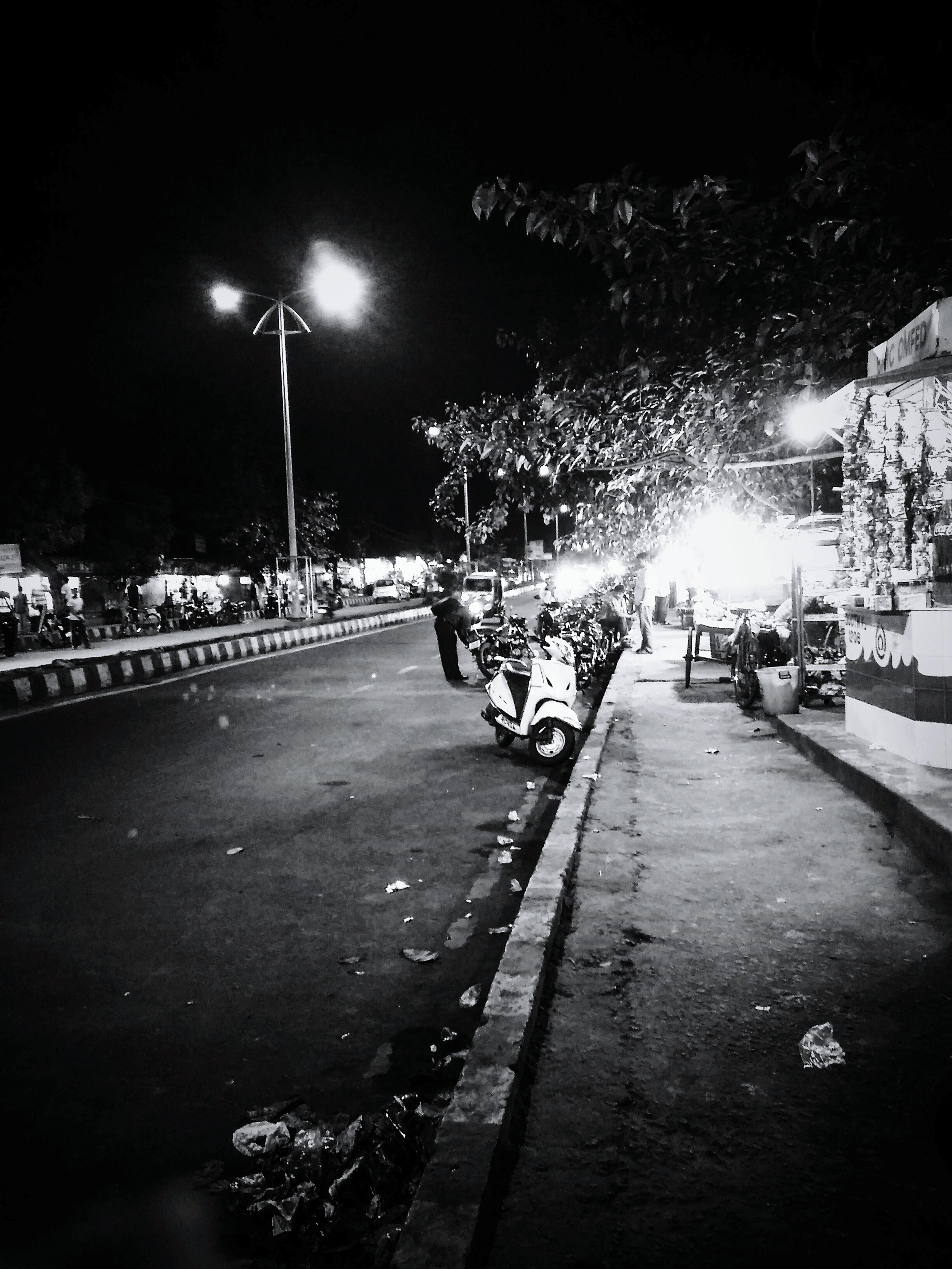 Nightphotography waiting