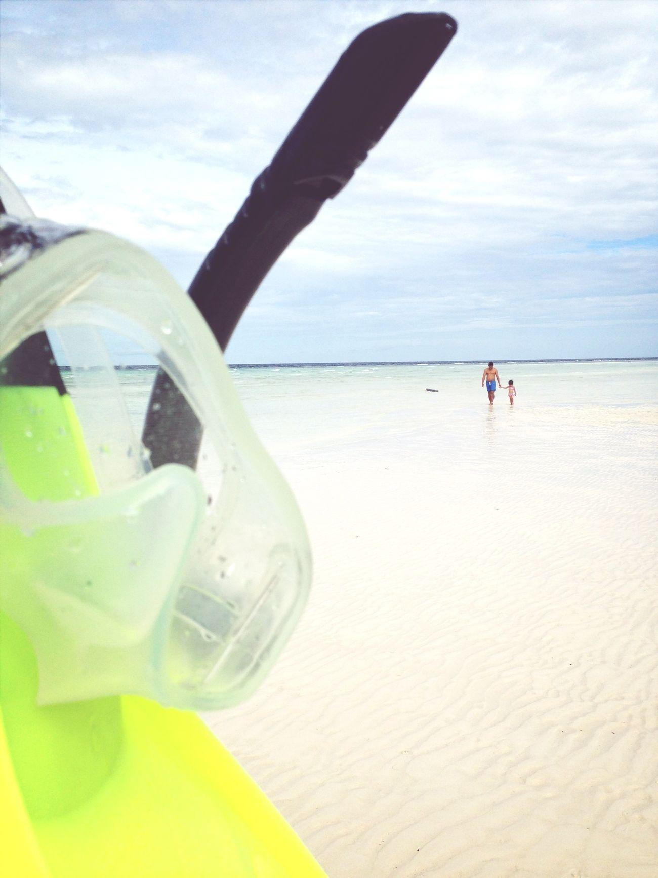 White sand beach Maratua Island