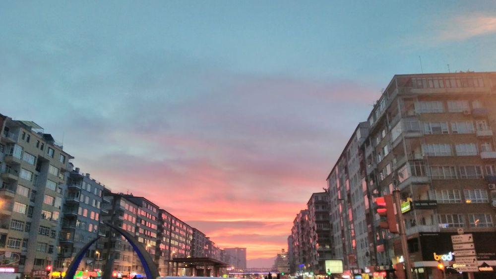Sunset Streetphotography