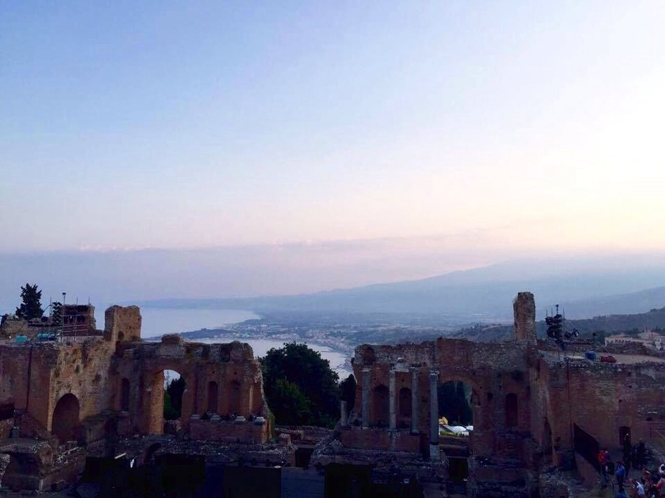 Old Ruin Architecture Ancient Civilization Ancient Ruins Ancient Theatre Outdoors Travel Destinations Etna Volcano Sea Sea And Sky Sunset Taormina Taormina And Etna Taormina Ruins Taormina, Sicily 🇮🇹 Mediterranean  Mediterranean Sea The Architect - 2017 EyeEm Awards The Great Outdoors - 2017 EyeEm Awards