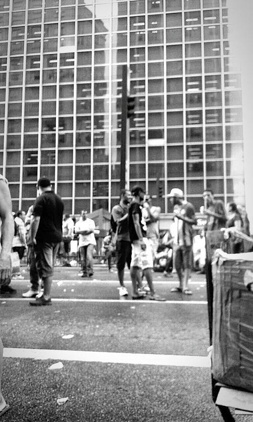 Paulista Education Young Women Full Length People City Student Outdoors Large Group Of People Young Adult Day Adult Brazil ❤ Sao Paulo - Brazil Gente Protesto CidadeLinda City Cinza Preto E Branco