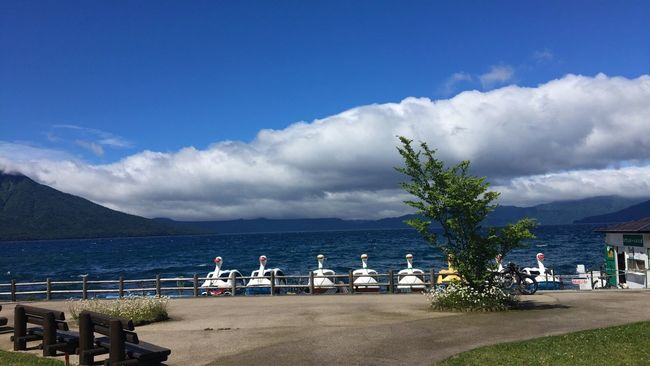 支笏湖 北海道 Hokkaido Japan Lake Nature Taking Photos