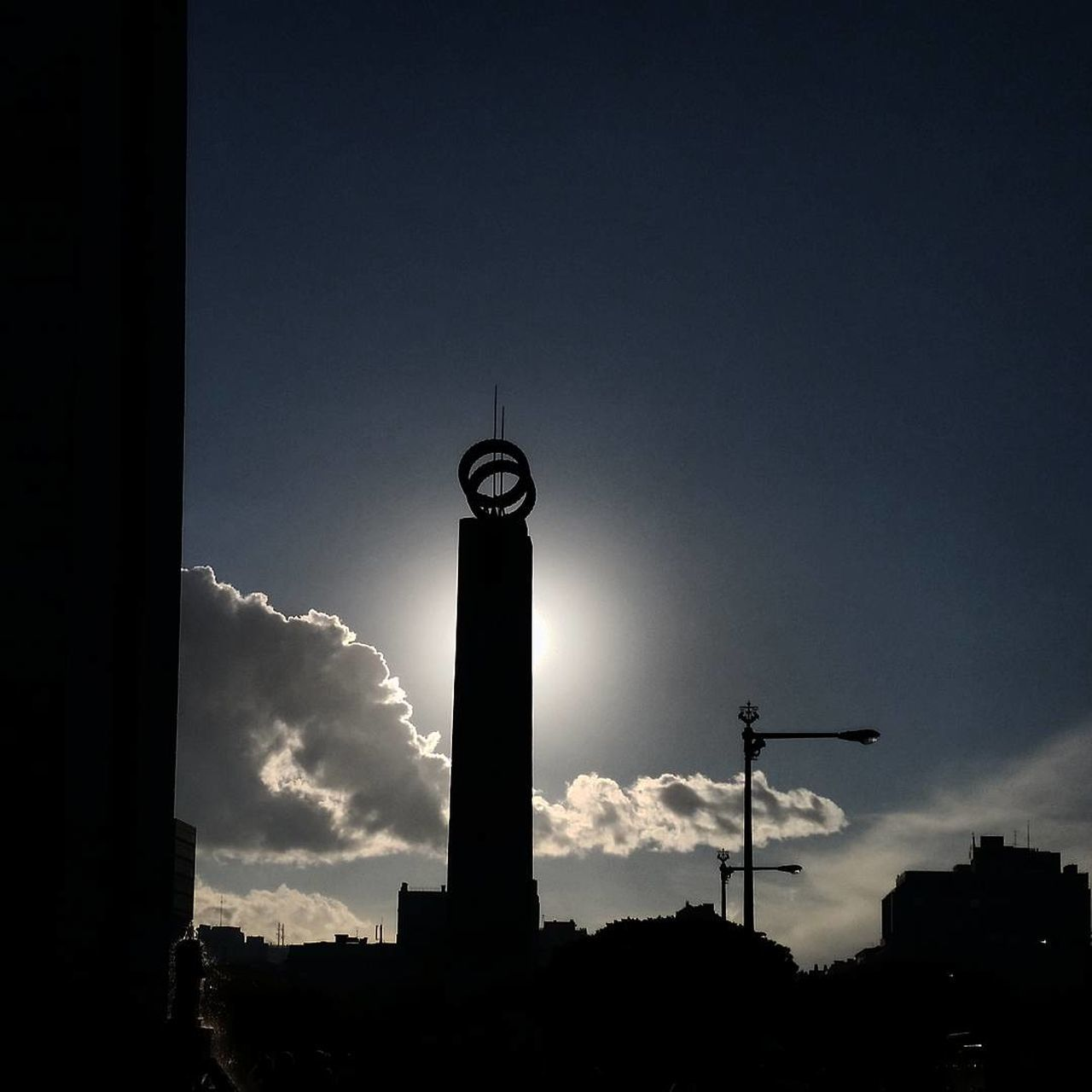 Sky Travel Destinations No People Low Angle View City Architecture Nature Eyemphotography Street Photography From Where I Stand Tranquility Streetphotography Cloud - Sky Built Structure City Life Sun Sunlight Sunset Silhouette Christmastime The City Light
