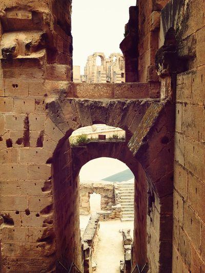 Architektur Tunesien Kolosseum
