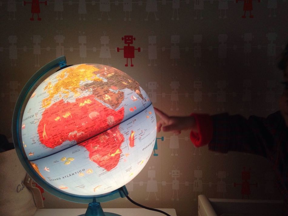 Beautiful stock photos of globe of earth, Child, Childhood, Cropped, Globe