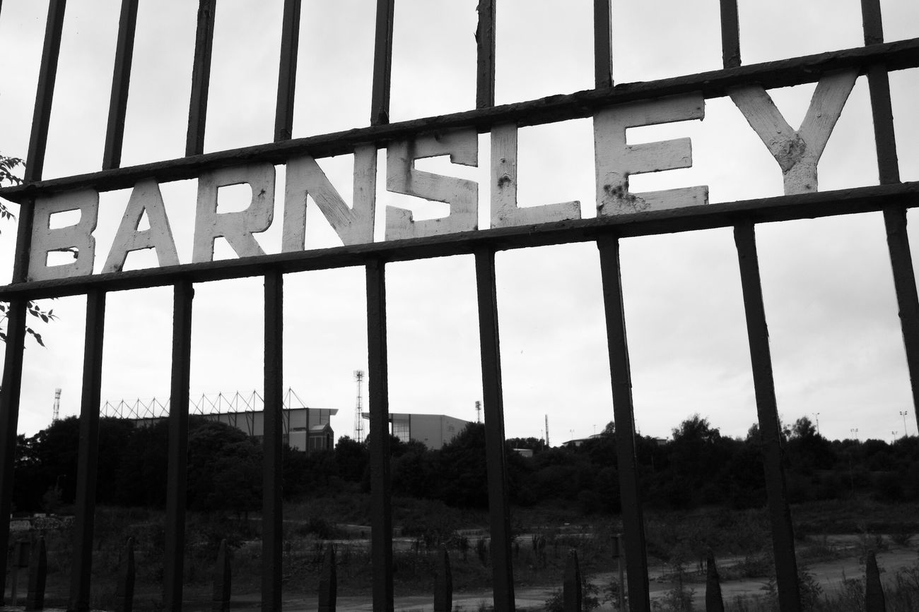 Oakwell, BarnsleyFriday 9th sept project 365 Text Eye4photography  Blackandwhite Photography Blackandwhite Barnsley Fc Barnsley EyeEm Best Shots Project 365
