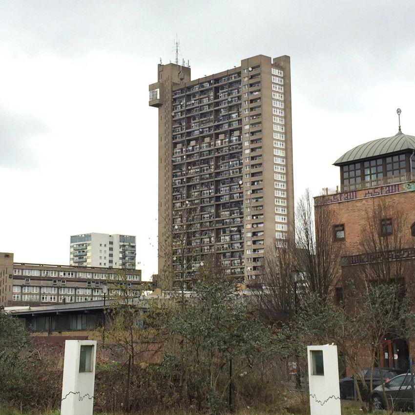 London Trellick Tower City Architecture Council Flats