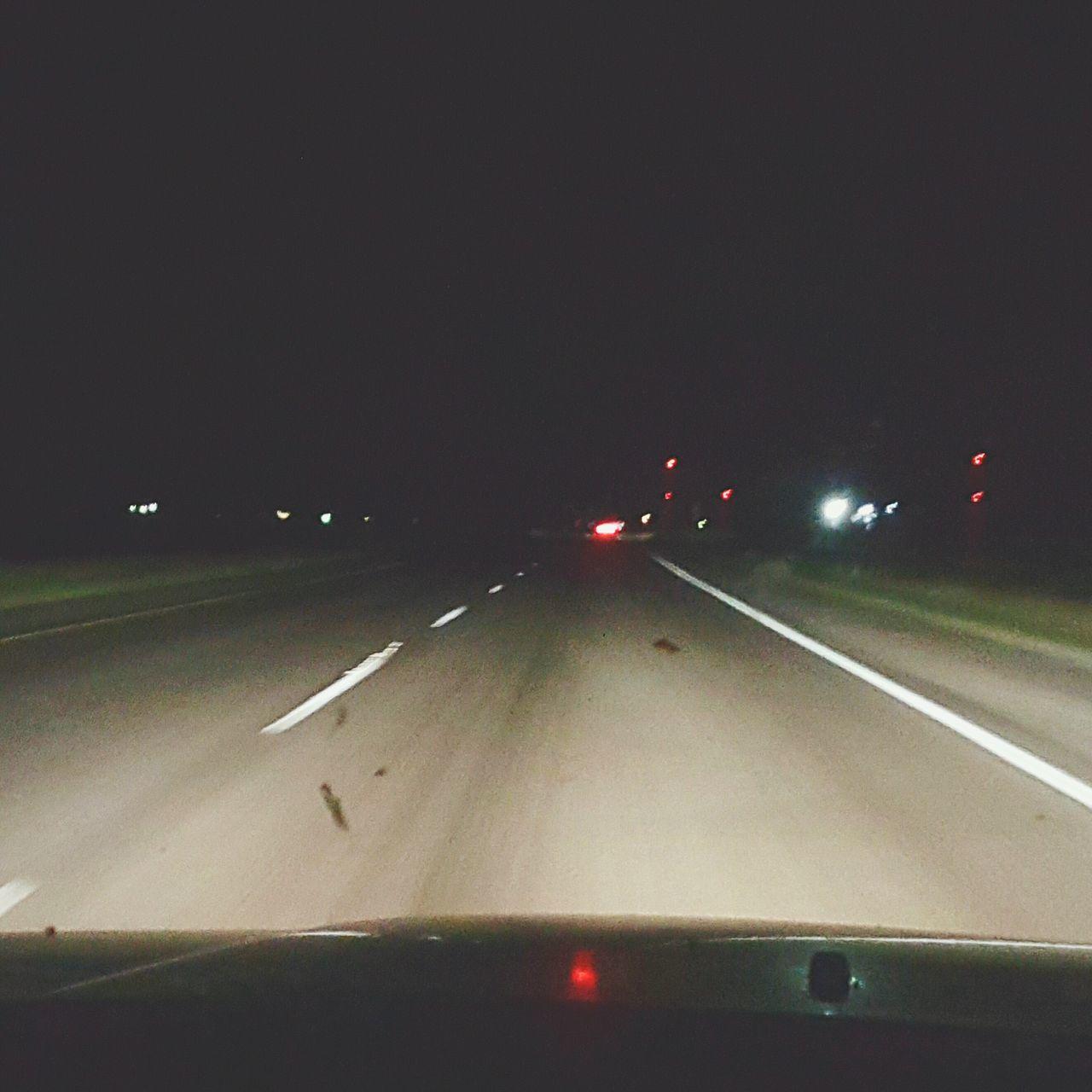 Night road trip pic! Taking Photos Texaslife The Week On Eyem Eyem Gallery Eyemphotography Night View Night Lights Nightscape