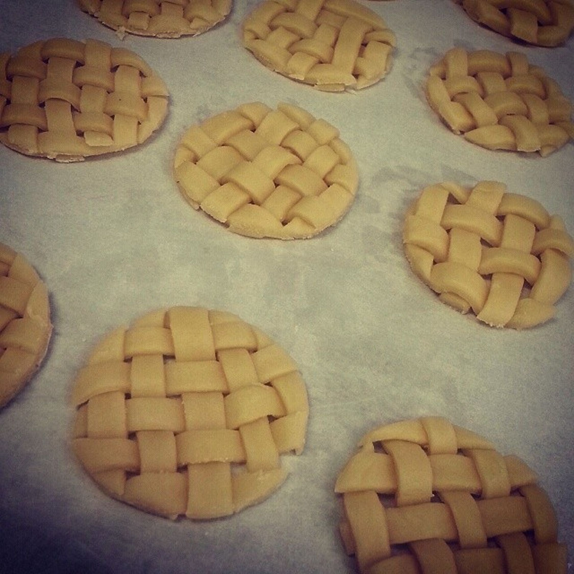 """Pie crusts for deconstructed apple pie.Three.Mfn.Hours. Barely ate anything all day. """"You look like you're about to quit"""" he says, """"you sure you wanna do this for a living?"""" I dont quit. My body may quit, but I never will. WORKHARD Worthit Mybossisthegreatest Learningtheropes chefinthemaking idontquit doinggreatthings applepie dessert"""