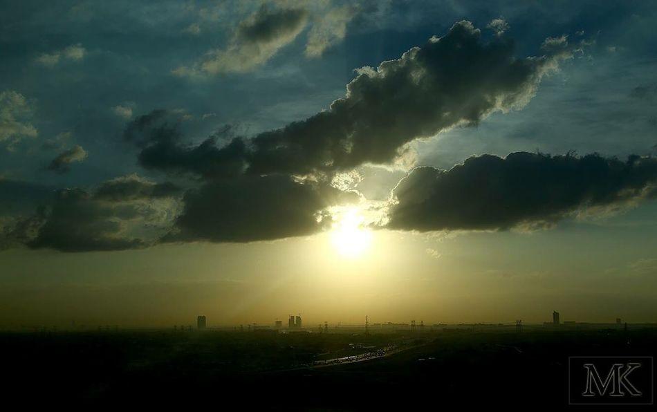 Sunrise Sunrisethroughmywindow Sunrisedubai Dubai Tecom