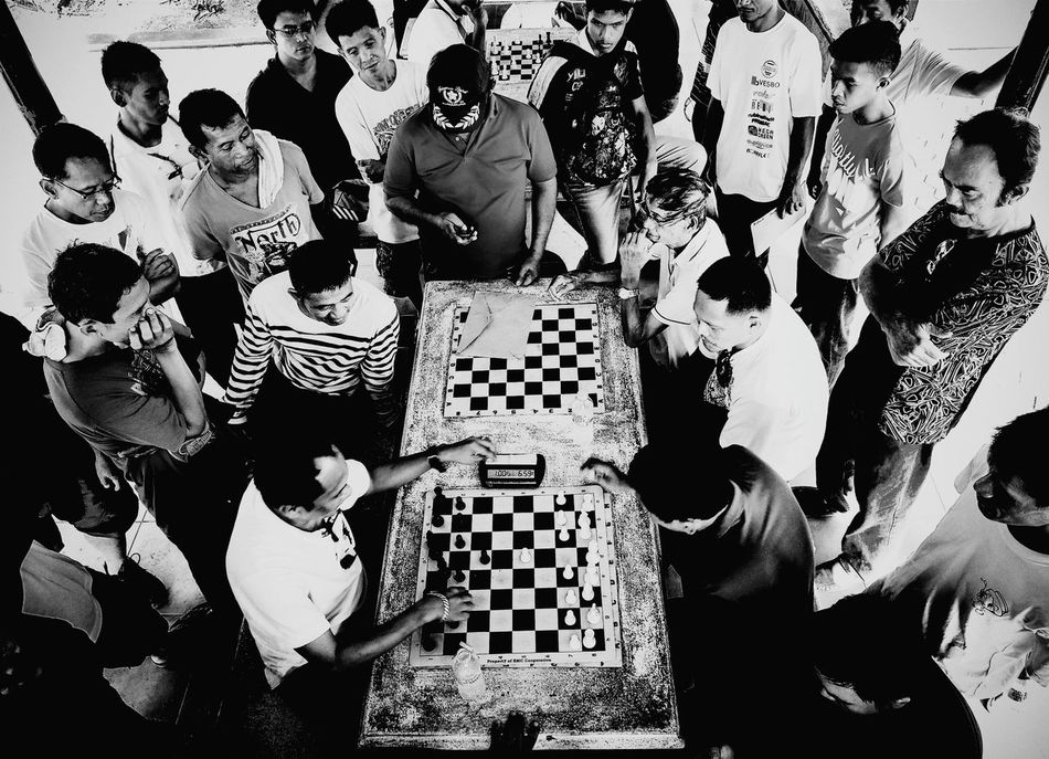 Beautiful stock photos of candid, Candid, Casual Clothing, Chess, Chess Board