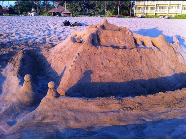Hawaii Havingfun With Family Brothers Big Smile Castle Send Want To Come Back Taking Photos