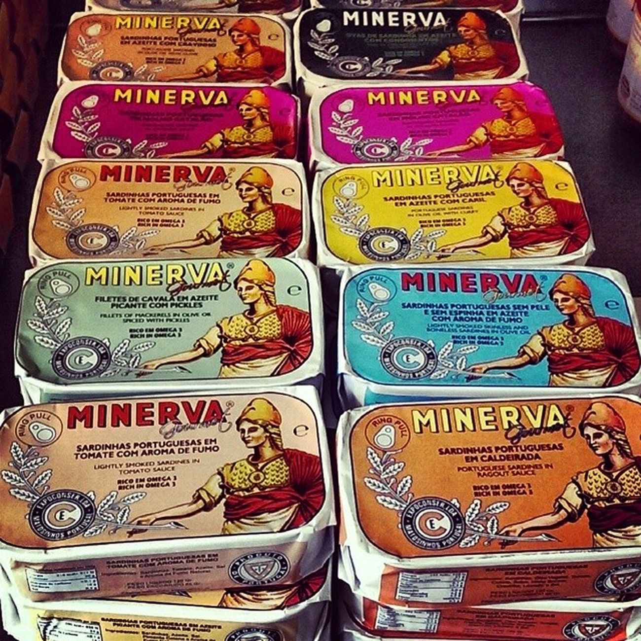 TBT  Portugal Sardines Fish Minerva Food Tinned Canned Colours Delicious Marinated Tasty Traditional Sardinhas Travel Tourist