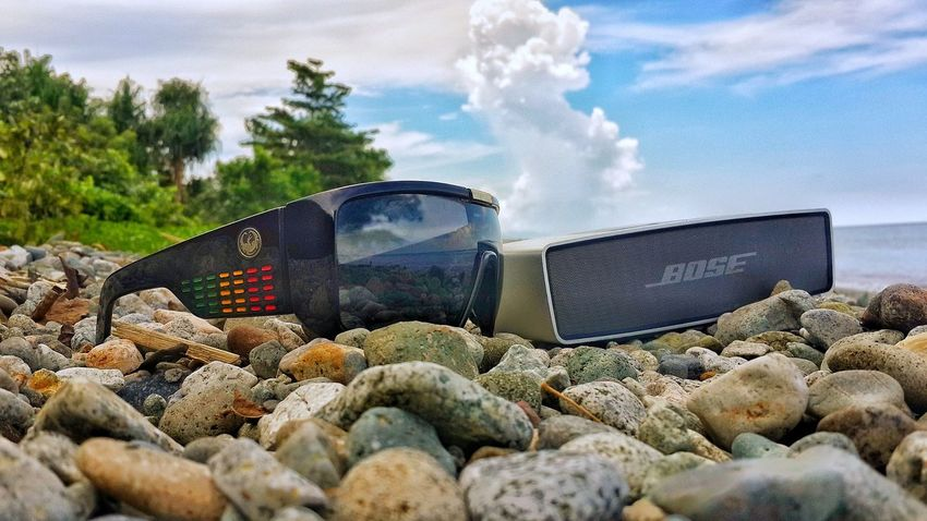 🌴🌊🏄🏊📻🍹Music Beauty In Nature Beach Photography Bose Speaker