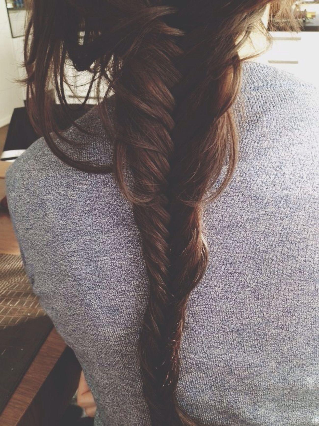 Hair Fishbraid Fishtail Braid
