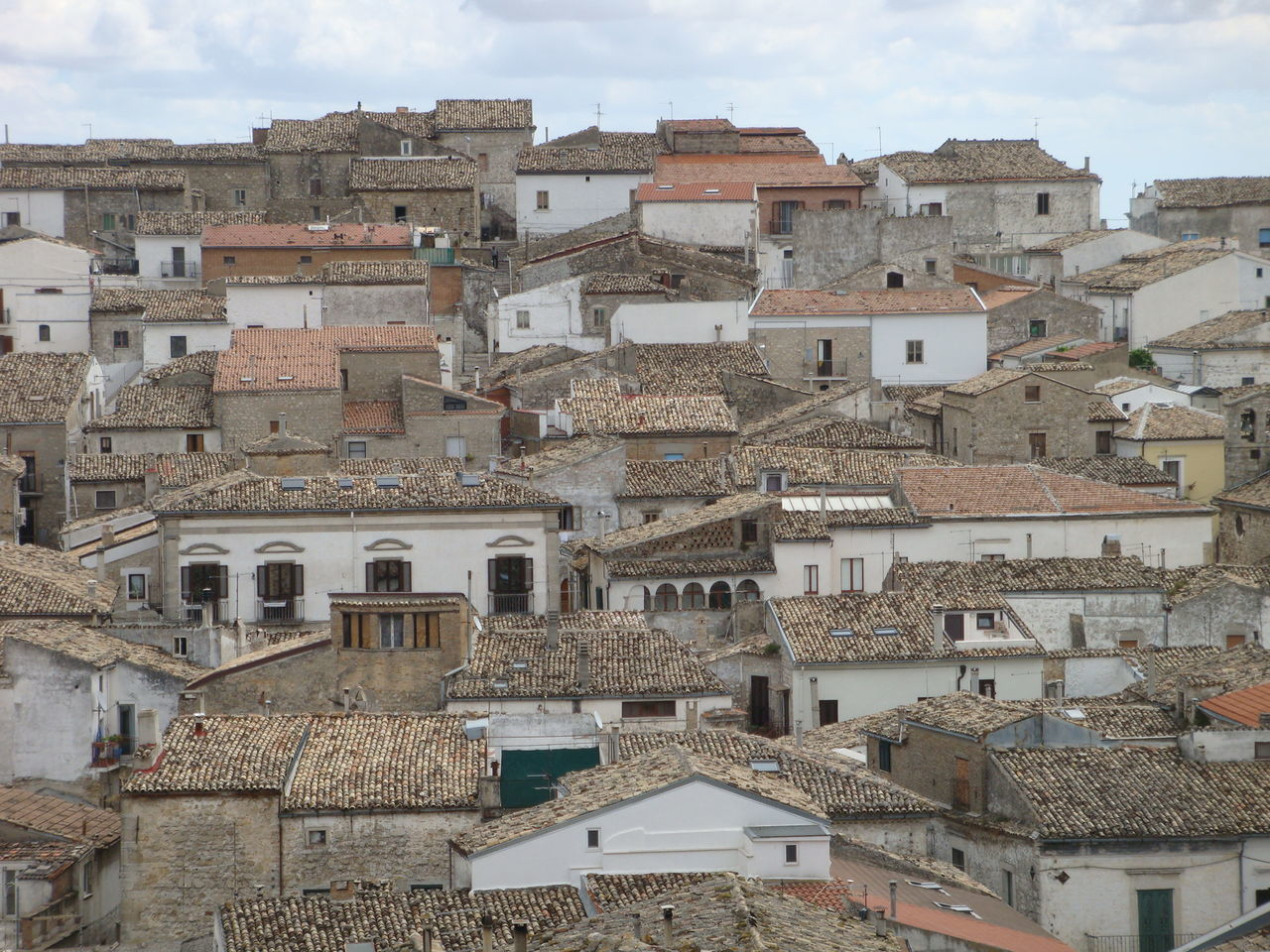 Architecture Building Exterior Caracteristic Village Cityscape Crowded Old Village Puglia Roof Sky South Of Italy Town Travel Destinations White Village