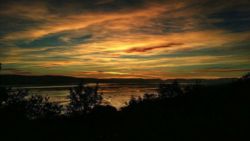 Dumbarton Shore Sun Rays Sunset_collection Sunset Sunrise_sunsets_aroundworld Sunset Silhouettes Beach Scottish Eyeem Scotland  Scotland