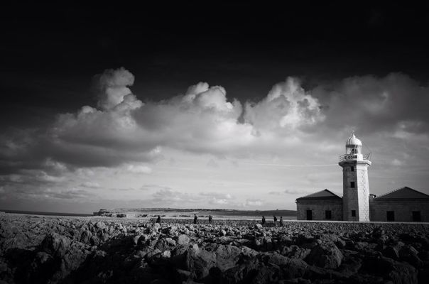blackandwhite at Far De Punta Nati by Berpax