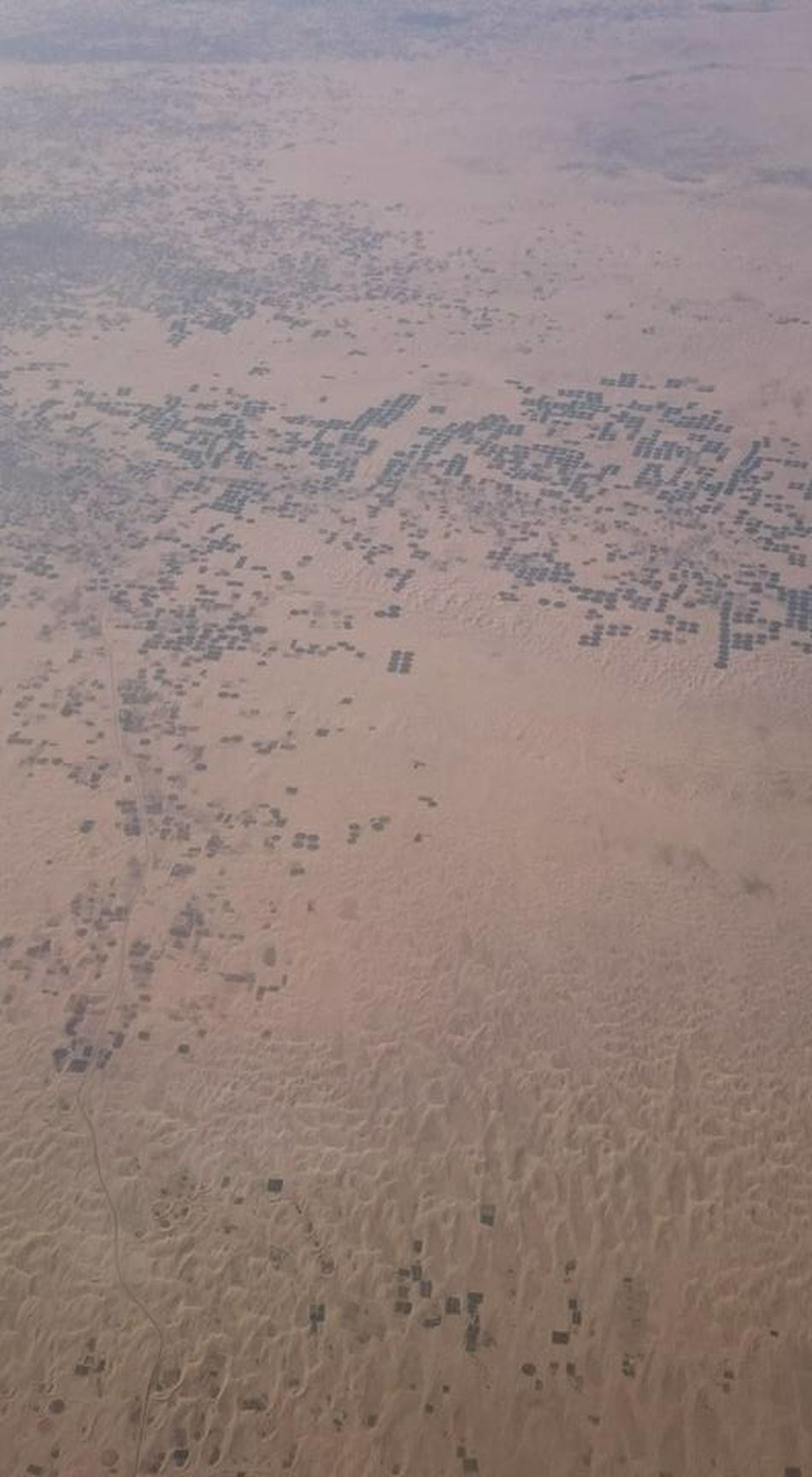 Agricultural Land Airplane View Algeria Desert Middle Of The Desert Nature Sahara Sand