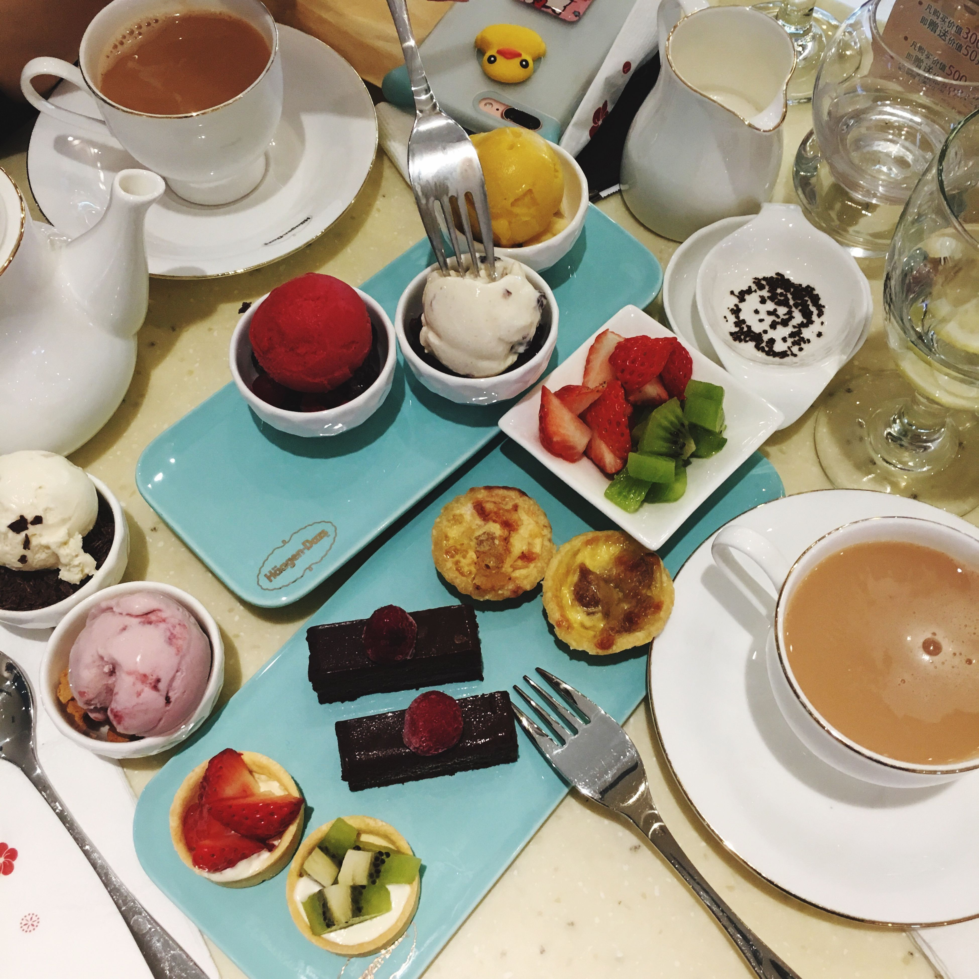 sweet food, food, dessert, temptation, freshness, food and drink, ready-to-eat, plate, indulgence, cupcake, serving size, no people, french food, table, indoors, day