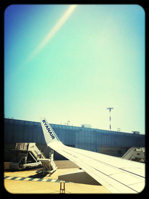Boarding at Mp2 Marseille Airport by Bao