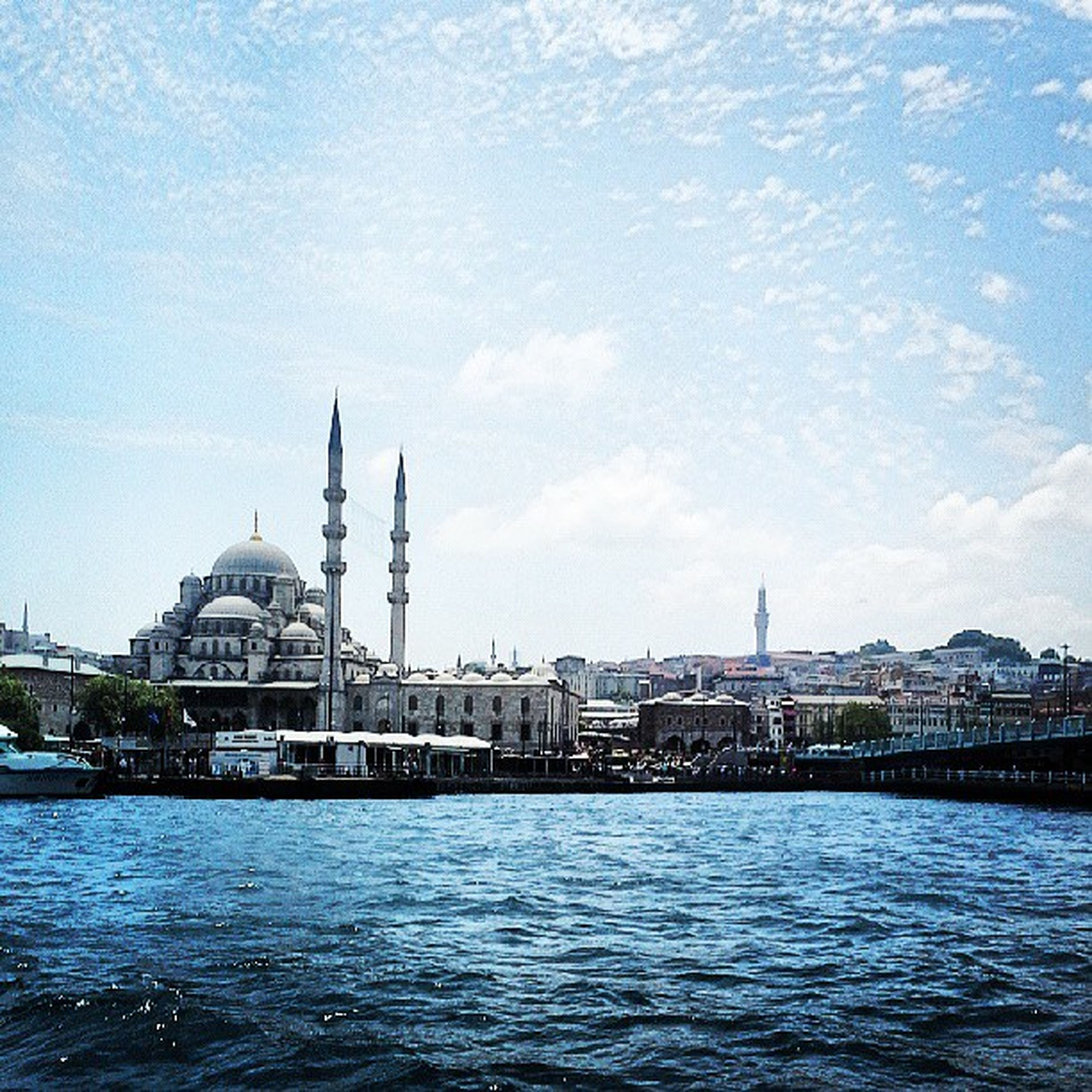 architecture, building exterior, built structure, water, waterfront, place of worship, church, religion, spirituality, dome, river, cathedral, famous place, sky, travel destinations, city, travel, blue
