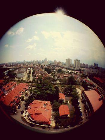 Kuala Lumpur Street Photography Enjoying The View