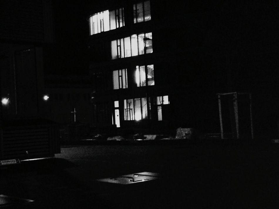 nächtliche Impressionen Taking Photos Leipzig Working Me Art Picoftheday Beautiful Blackandwhite Nightphotography