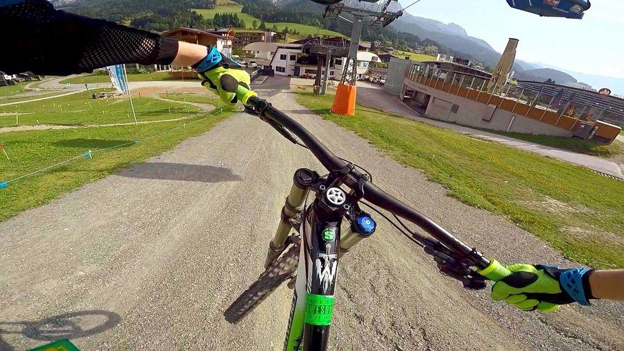 Bikepark leogang First Eyeem Photo M Mountains Freeride Downhill Downhillskateboarding Downhill/ Freeride Österreich Biken Bikepark Gopro MTB Biking Fahrräder