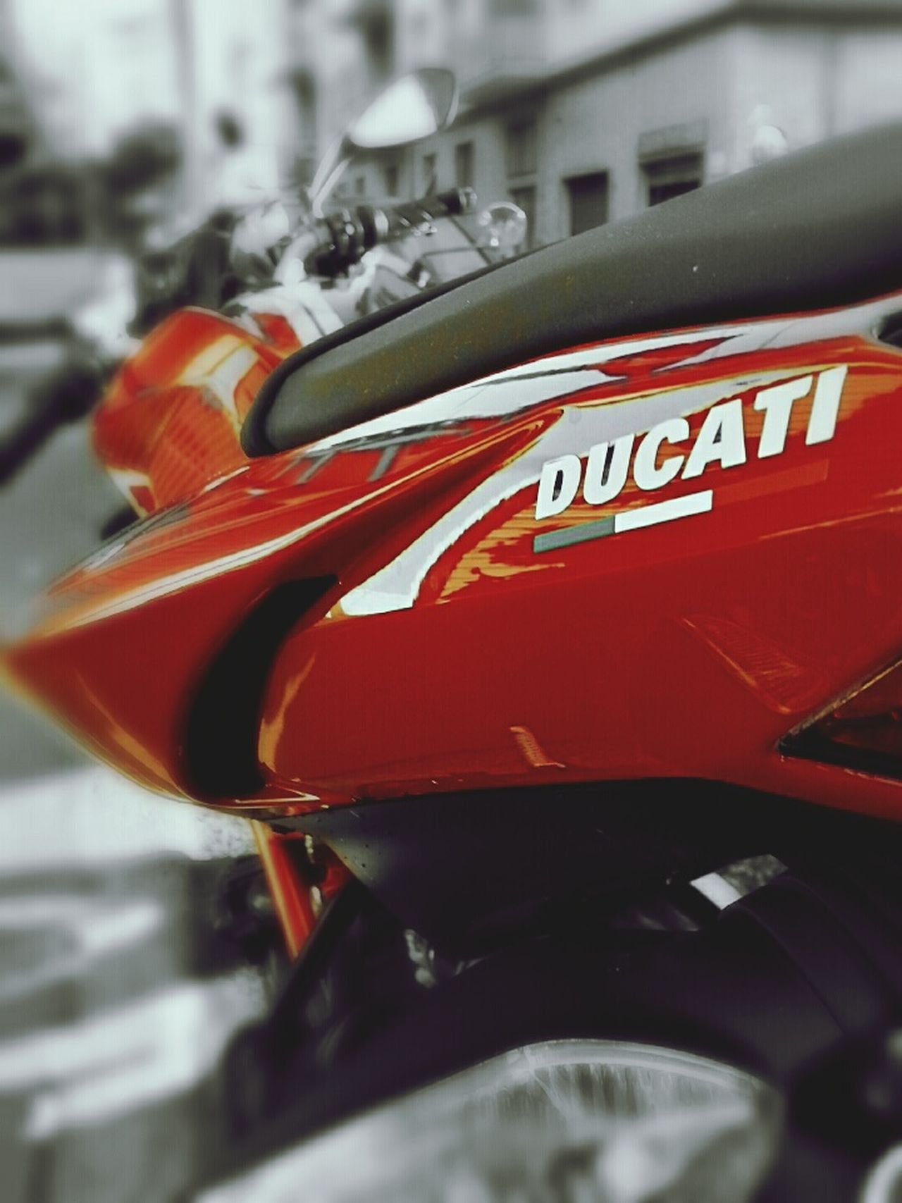 Ducatistreetfighter Ducatilover Varazze Samsung S3 Hello World Snapseed Autodesk Red Color EyeEm Best Shots First Eyeem Photo