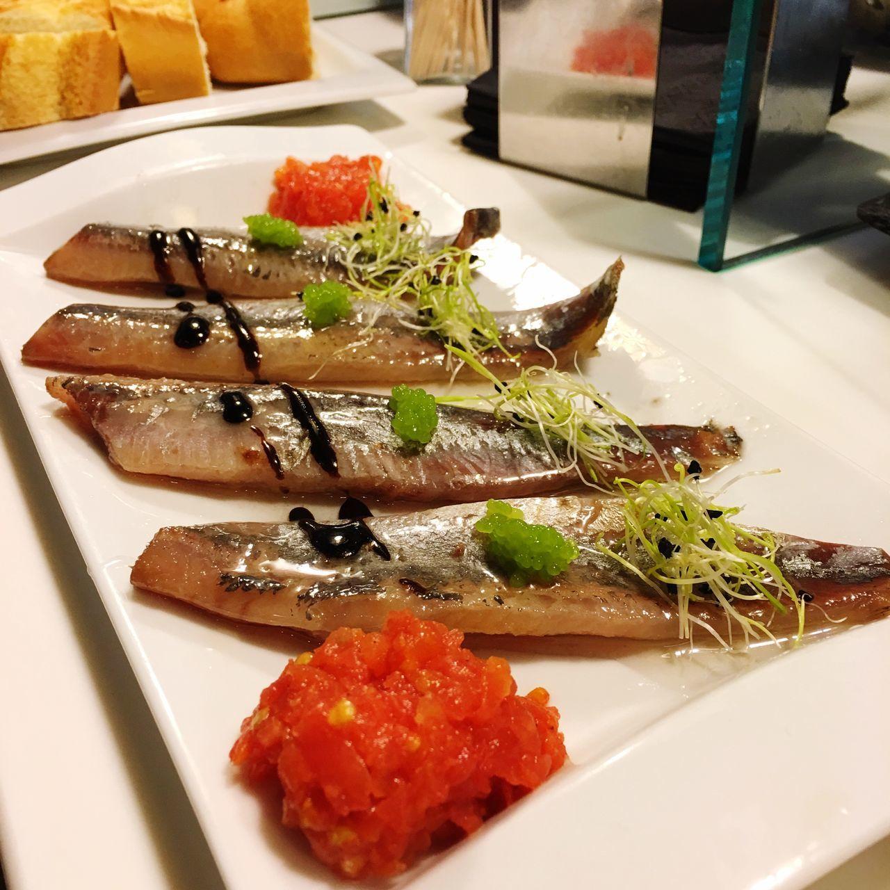 Fresh Produce Fish Food ArtWork Bilbao