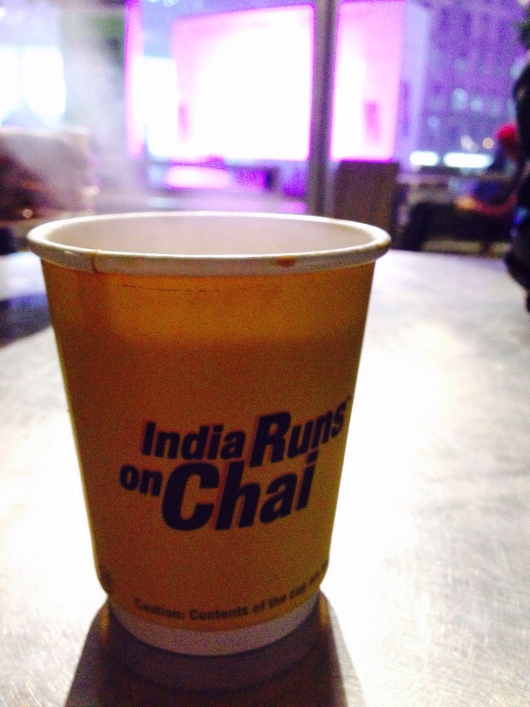 A cup of chai...at every begining. Chai Wintertime Dining Out Delhinightlife