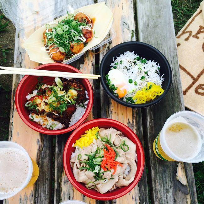 Show Us Your Takeaway! フェス飯 Street Food Worldwide