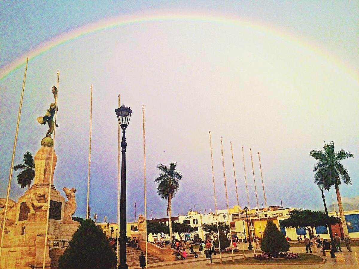 Plaza De Armas Trujillo Arcoiris🌈 Sunset🌅