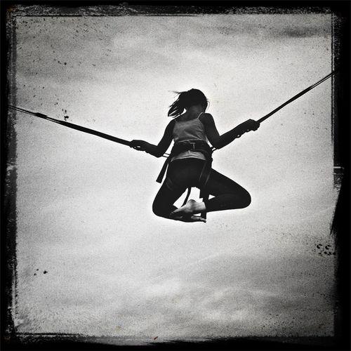 Girl Flying
