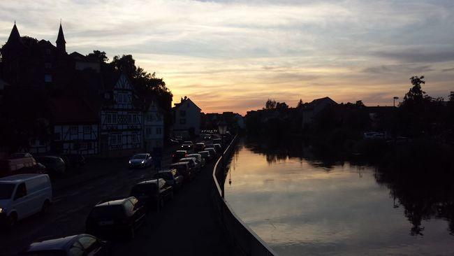 Beautiful sunset in Eschwege Eschwege Deutschland. Dein Tag Sunset The Purist (no Edit, No Filter)