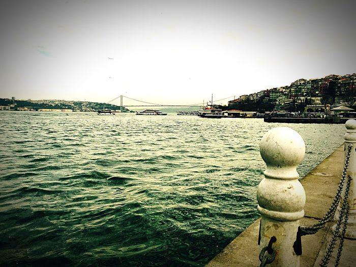 Traveling Istanbul Bridge Weather Morning Goodmorning Istanbul Turkey Hello World