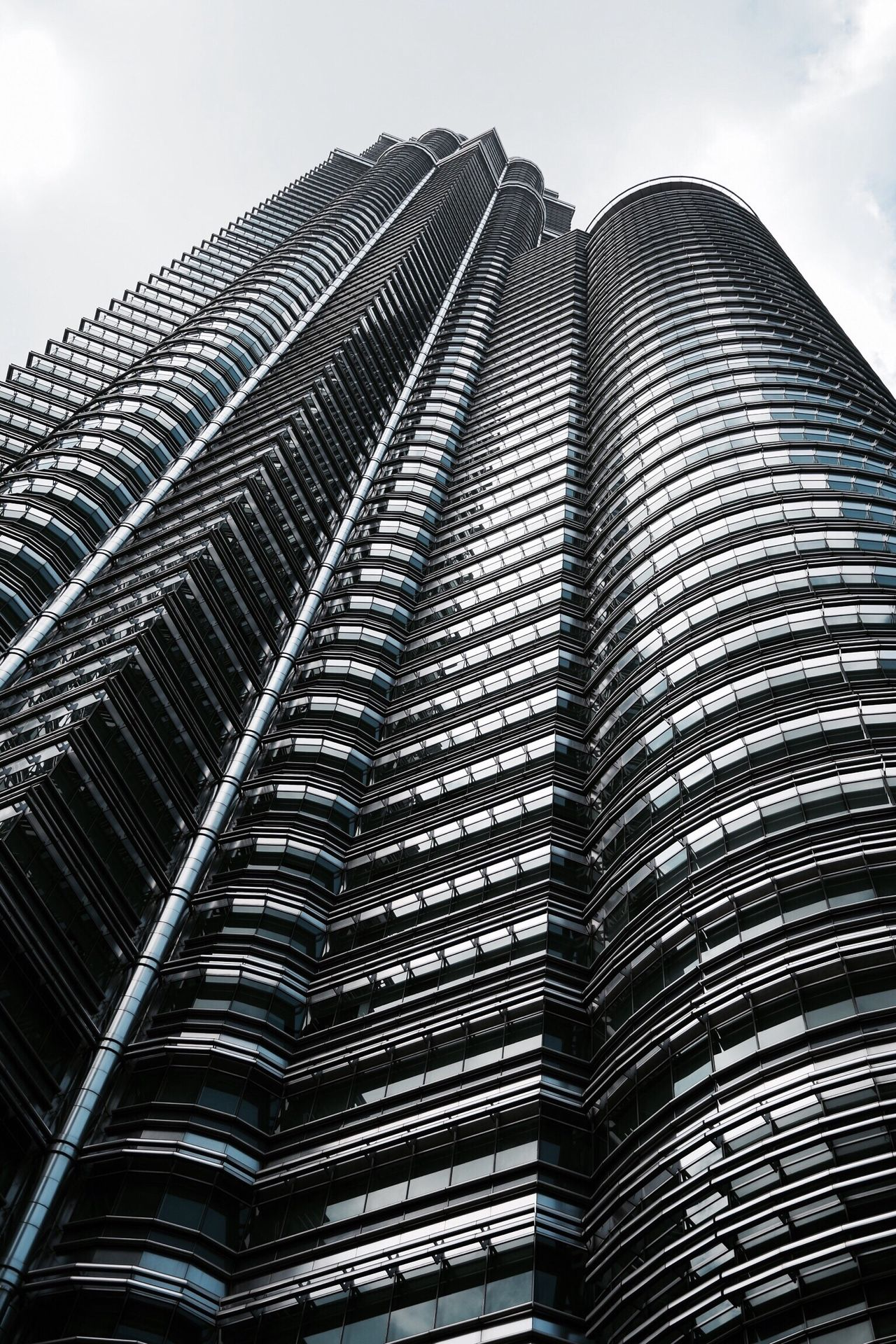 Architecture KualaLumpur KLCC Malaysia Architecture Low Angle View Building Exterior Built Structure Modern No People Sky Day Outdoors Skyscraper First Eyeem Photo EyeEmNewHere