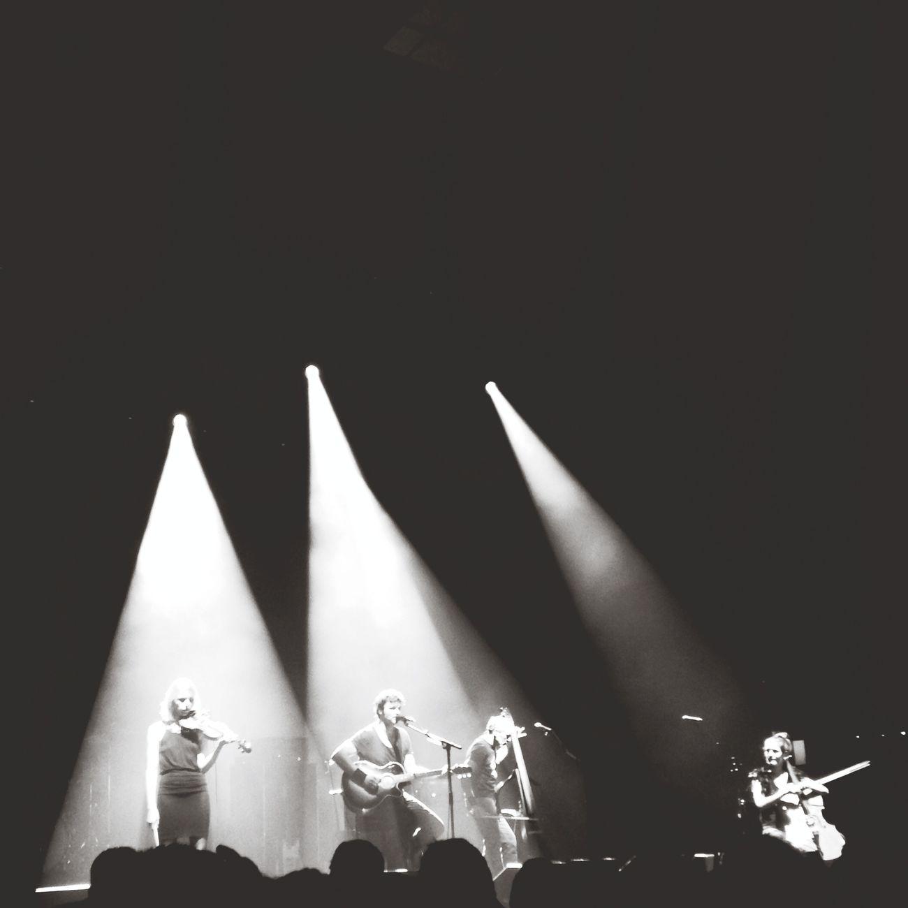 Detroit à Paris Concert Blackandwhite